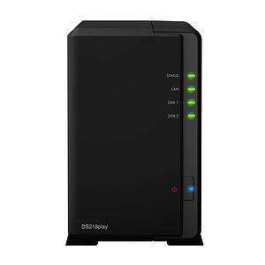 Synology DS218play 2bay NAS 1.4GHz Quadcore CPU NAS SN