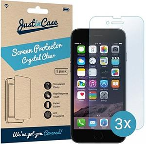 Just in Case Screen Protector Apple iPhone 6 / 6S (3 pack) ACC A1