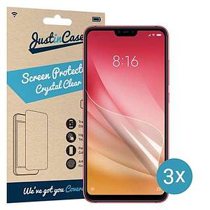 Just in Case Screen Protector Xiaomi Mi 8 Lite (3 pack) SAC XA